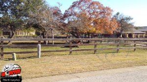 Wood Fence -type: Split Rail Farm Fence in Austin, Tx -Spanish Oaks